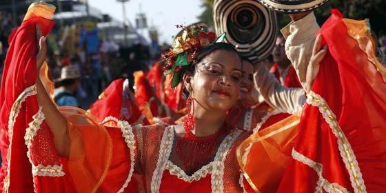 El Carnaval de Barranquilla hace una parada en Madrid