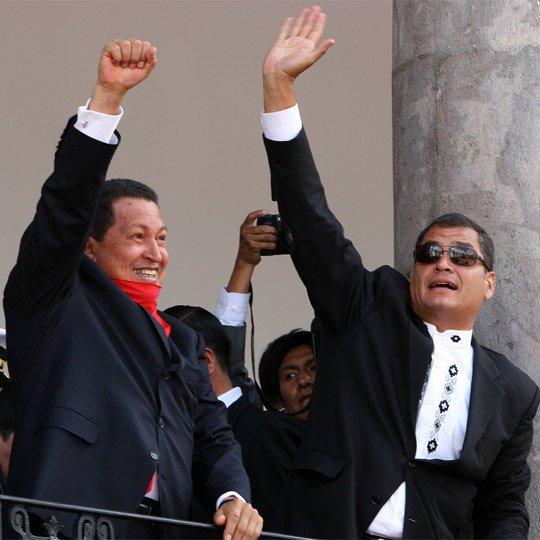 Rafael Correa amenaza con romper lazos con Colombia