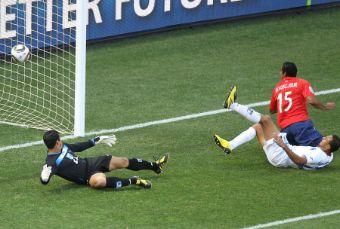 Chile venció por 1 a 0 Honduras en el primer duelo latinoamericano