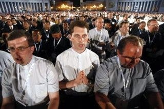 """Gracias, Señor, por haberlo podido vivir en Roma"""