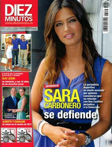Sara Carbonero, la verdadera estrella del Mundial