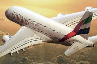 Emirates... aterriza en Madrid