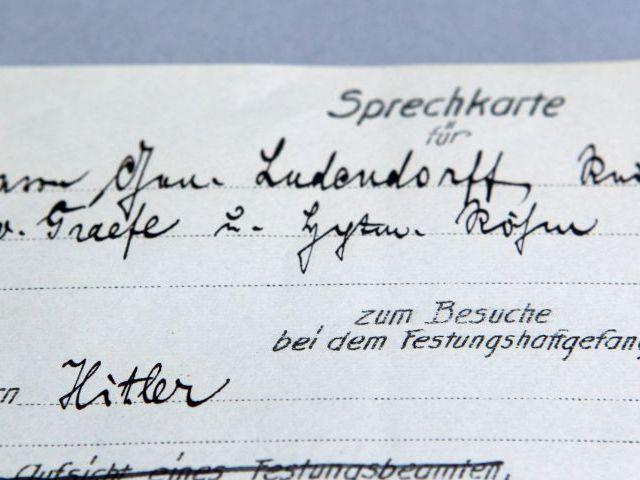La prueba de que Hitler estuvo en la cárcel