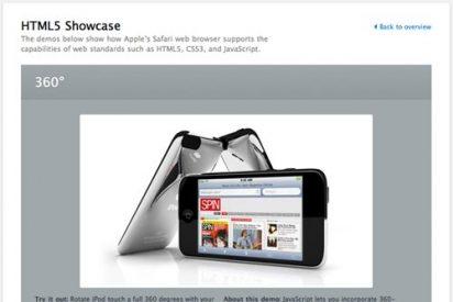 Apple crea una web para promover HTML5, el estándar de navegación que usa el iPad