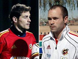 Iker Casillas y Andrés Iniesta, los mejor valorados de la Seleción