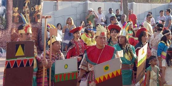Celebran las Fiestas del Inti Raymi en Madrid