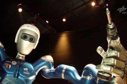 Justin, el robot teledirigido que reparará nuestros satélites en el espacio