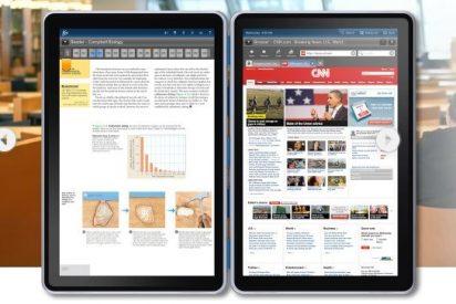 Presentan The Kno, el 'iPad' de los libros de texto para estudiantes