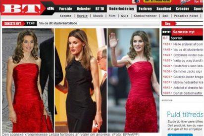 "La prensa danesa rebautiza a Letizia como ""la princesa cerilla"""
