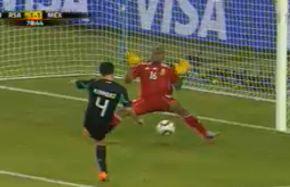 México y Sudáfrica empatan a un gol