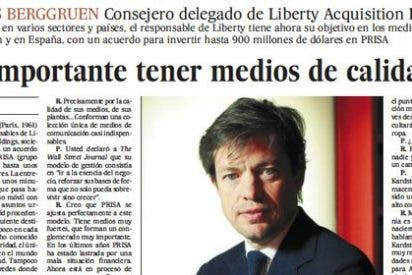 El País ensalza la figura del especulador que promete salvar a Prisa