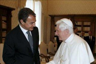 Zapatero y la infabilidad pontificia