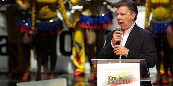 Manuel Santos virtual presidente electo de Colombia con el 68.8% de los votos