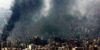 Reuters manipuló una foto para ocultar las armas de los 'pacifistas'