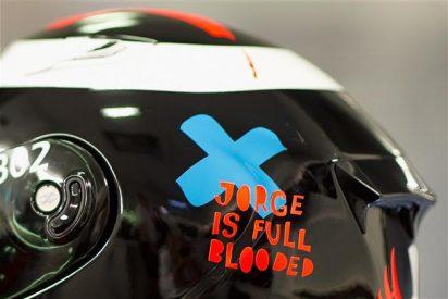 Jorge Lorenzo (Yamaha) se une a la campaña de donación 'Barcelona tiene sangre'