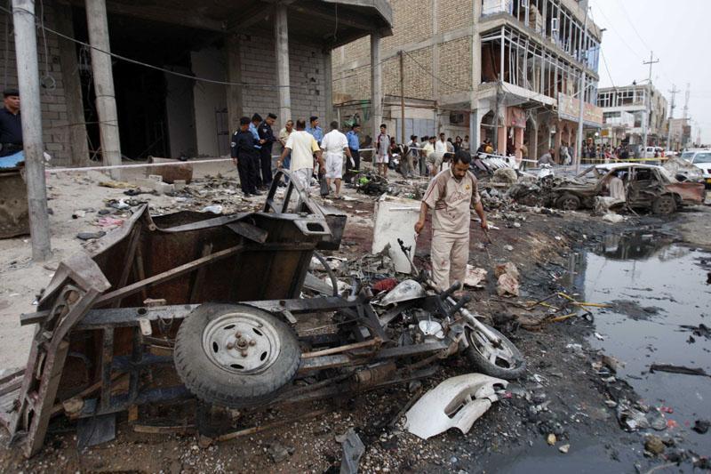 Atentado suicida contra la sede de Al Arabiya en Bagdad