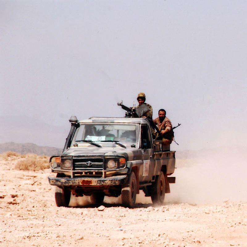 Los rebeldes chiíes capturan una base del Ejército yemení
