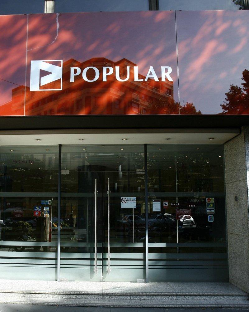 Banco Popular ganó 354,6 millones hasta junio, un 19,9% menos