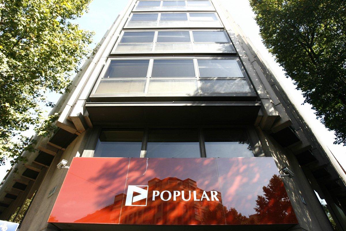 Popular: nuestra exposición inmobiliaria es inferior a la del test