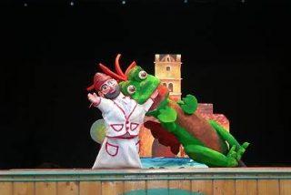 Zaragoza.- Teatro Arbolé presenta en tres funciones en la capital aragonesa a sus 'Títeres de cachiporra'