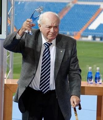 Alfredo Di Stéfano recibe el alta médica