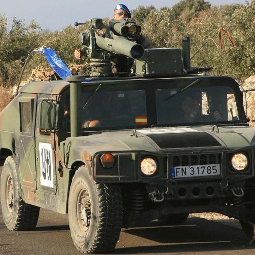 Los militares españoles en Líbano destruyen 39 minas anticarro en cuatro meses