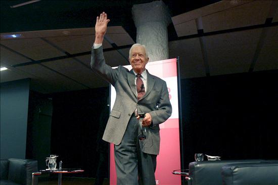 Carter recibirá el Premio Internacional de Cataluña 2010