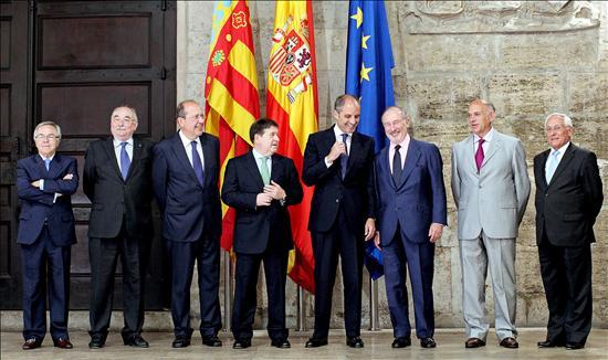 Camps recibe a los presidentes del SIP liderado por Caja Madrid y Bancaja