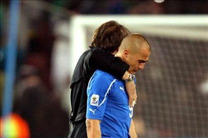 Cannavaro quiere que España gane el Mundial y dice que echa de menos la Liga