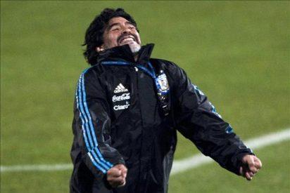 Maradona daría un brazo y correría desnudo en Buenos Aires por ganar Mundial