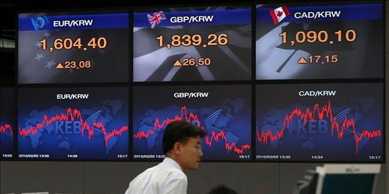 El índice Kospi sube 3,61 puntos, el 0,21 por ciento, hasta 1.675,43 puntos