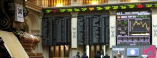 La bolsa española sube el 3,59 por ciento y recupera los 9.600 puntos