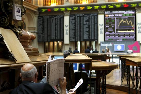 La Bolsa española abre al alza y el Ibex-35 sube el 0,80 por ciento