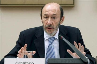 Rubalcaba dice que ETA pretendía cometer dos atentados durante la presidencia de la UE