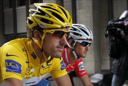 Cancellara es el nuevo líder y Hushovd gana la tercera etapa