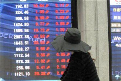 El índice Nikkei baja 27,83 puntos el 0,29 por ciento, hasta 9.310,21 puntos