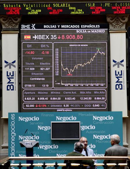 La bolsa española sube el 3,87 por ciento, la tercera mayor del año, gracias a la banca