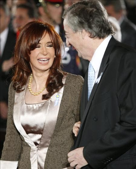 Aumenta un 20 por ciento la fortuna del matrimonio Kirchner, según la prensa