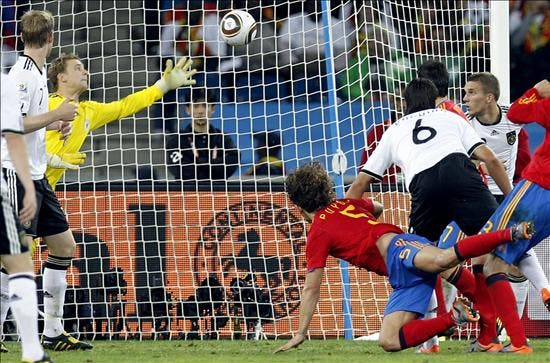 0-1. España engrandece su historia con un recital ante Alemania