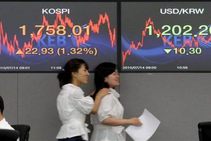 El índice Kospi abre prácticamente sin variación en 1.751,20 puntos