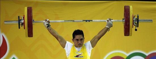 El colombiano Habib de las Salas domina la halterofilia con tres oros