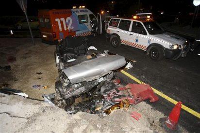 Mueren quince personas en las carreteras durante el fin de semana