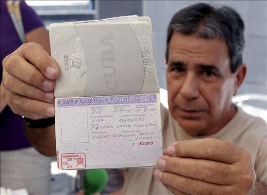 El grupo de ocho presos cubanos llegará a Madrid entre mañana y el viernes