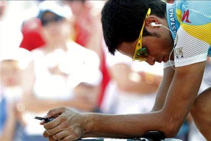 Contador virtual ganador y Cancellara vencedor de la crono