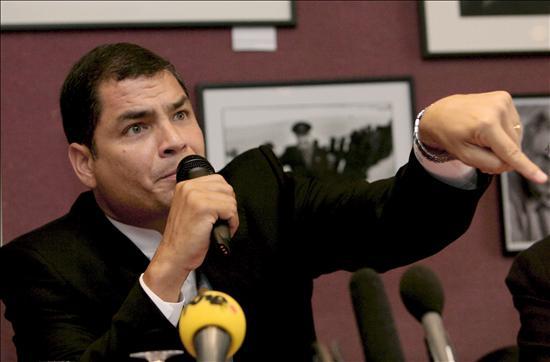 Correa anticipa que el lunes enviará a Registro Oficial la Ley de Hidrocarburos