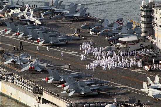 Comienzan las maniobras de EEUU y Corea del Sur en el Mar de Japón
