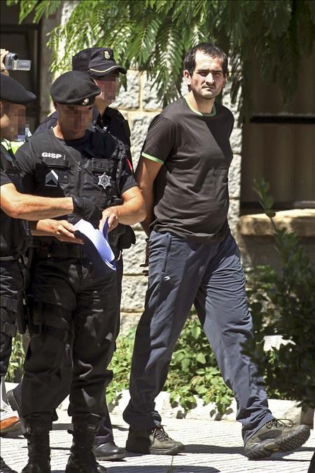 Juez interroga mañana al presunto etarra entregado por Portugal García Arrieta