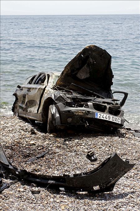 Un muerto y cuatro heridos en un accidente de tráfico en Almería