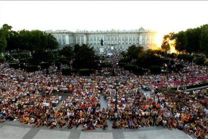 Plácido Domingo, récord de aplausos en el Real con 25 minutos de ovación
