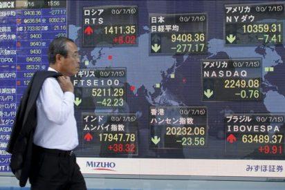 El Nikkei abre la semana con una subida del 1,22 ciento hasta 9.546,13 puntos